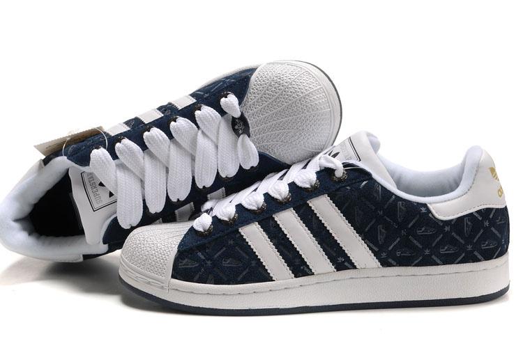 Thief Adidas Pas 37 Bleu Superstar Qfdx78yy Daim Cher